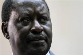 The Prime Minister Raila Odinga